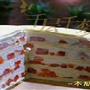 爱千层水果蛋糕 苏州桥配送窗口