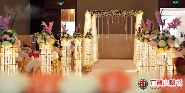 金色年华-浪漫金色水晶西式婚礼