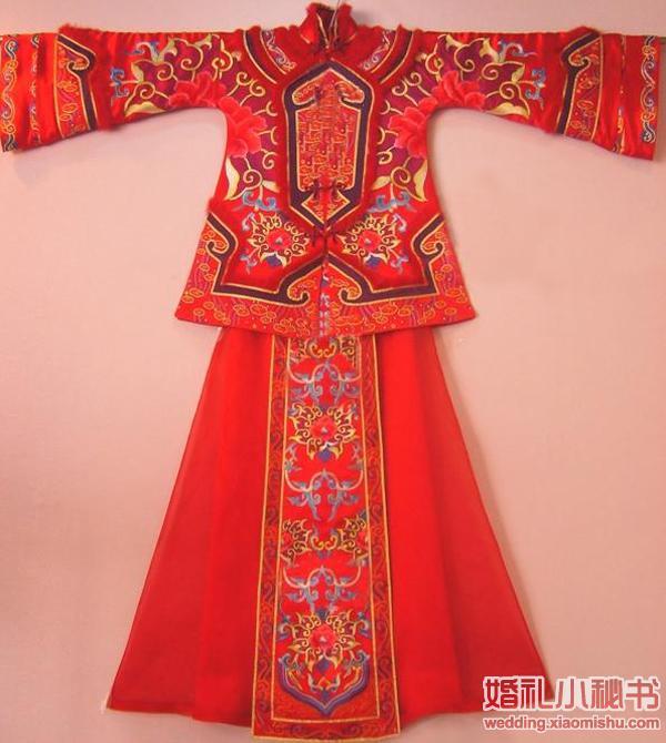 手工制作满族传统旗袍