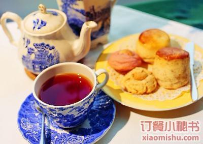 欧式茶艺甜品摆台图片