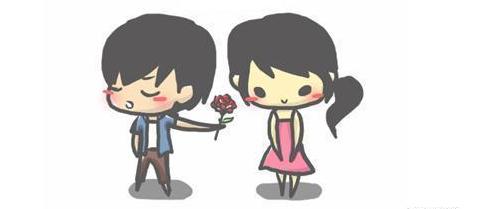 欧式情侣头像单人两张