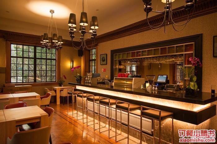 饭店吧台装修图片